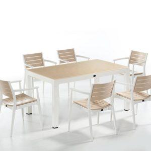 6 kişilik bahçe mobilyası